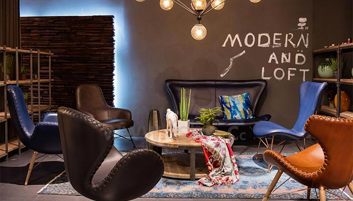 Modern Furniture Fair 2017 exhibition tidbits-foshan nanhai jinjiang huihang furniture